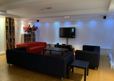 Games Room sitting area